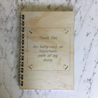 Teacher Gift Personalised Notebook with Beautiful Quote