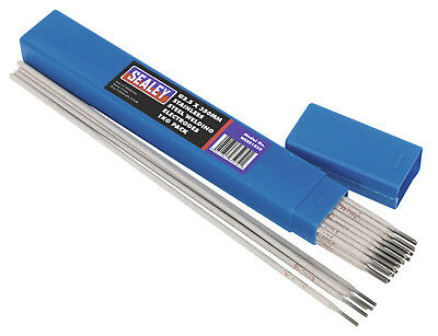 Sealey WESS1025 Welding Electrodes Stainless Steel �2.5 x 350mm 1kg Pack