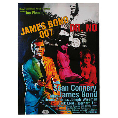 Filmplakat Leinwand James Bond 007 Dr. NO Sean Connery  50x70cm Kinoplakat Bild