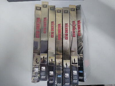 The Walking Dead - Stagioni 1 - 7 (30 DVD) - ITALIANI ORIGINALI SIGILLATI -