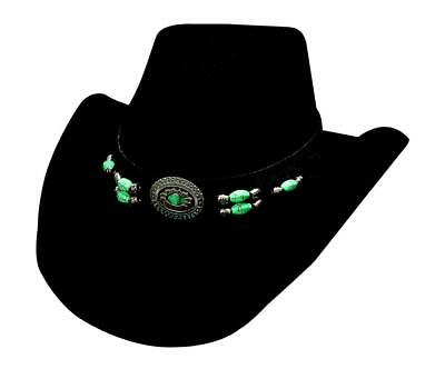 Bullhide Hats 0504Bl Sassy Cowgirl Collection Jewel Of The West Black  Cowboy Hat 52c96f9b9fcc