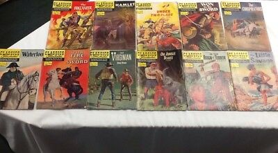 Classics Illustrated Gold & Silver Age Comic Lot- 11 Books- Special Issues- NR