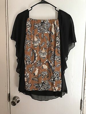 Womens Large Outfit Dress Pants And Black Top