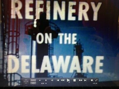 Delaware City Refinery Celebrating 50 Years 1957-07 DVD Presented By Tidewater