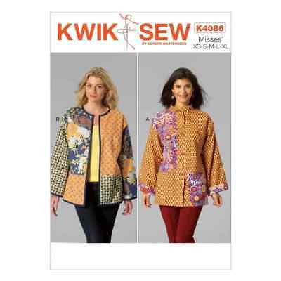 Kwik Sew Sewing Pattern K4086 Misses' Jackets