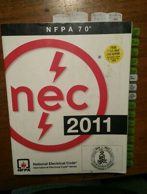 NEC 2011 - National Electrical Code book - Tabbed - Highlited - NFPA 70