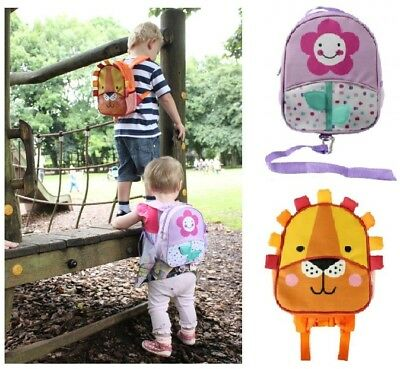 Toddler Nursery & Travel Backpack Child Harness Bag with Safety Walking Reins