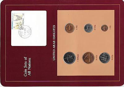 Coin Sets of All Nations UAE United Arab Emirates UNC 1988-1989 1 Fils 1988 RARE