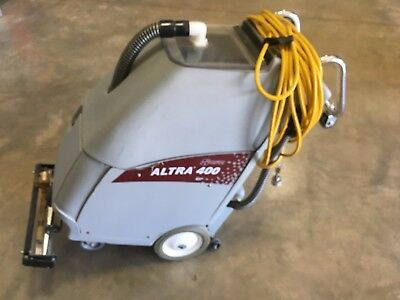 CFR Altra 400 SP Self Contained Carpet Extractor Vacuum Cleaner Cleaning Station