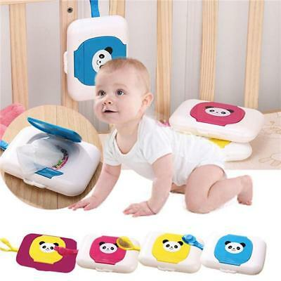 Kid Baby Portable Wipe Tissue Case Wet Wipes Dispenser Box For Baby Travel Bag L