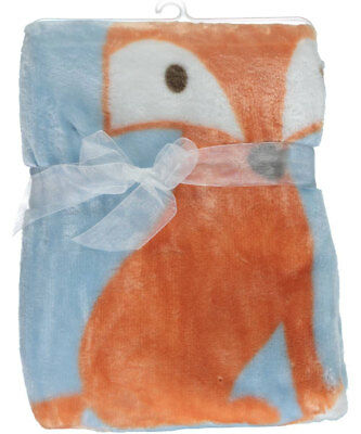 "Luvable Friends ""Fox"" Plush Baby Blanket"