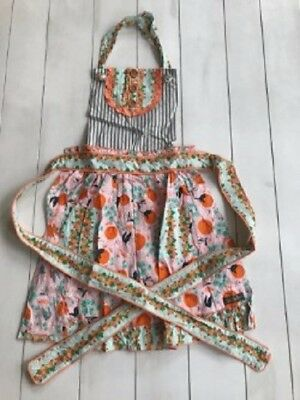"NWT! Matilda Jane W/ Joanna Gaines ""Baked From Scratch"" Apron NEW Girls"