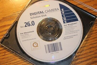Canon Digital Camera Solution Disk Ver 26.0  Photo Studio