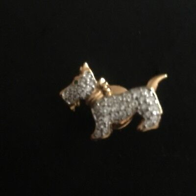 West Highland White Terrier Swarovski Crystal Lapel pin