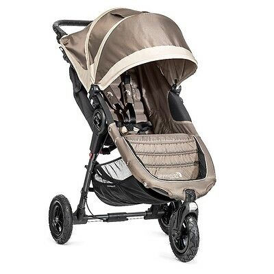 Baby Jogger City Mini GT Stroller- Sand/ Stone - Brand New! Free Shipping!