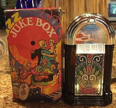 Vintage Avon Collectible  Brown Glass Juke Box Men's Sweet Honesty Cologne