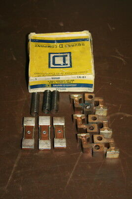 Contact kit 3 pole Size 2 Types D, T 77520 9998TA81 Square D Unused