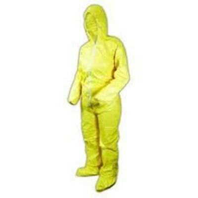 Dupont Tychem QC122 Size 3X Tychem Coverall,Hood & Boots