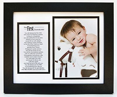 The Grandparent Gift Co. Photo Frame First Grandchild