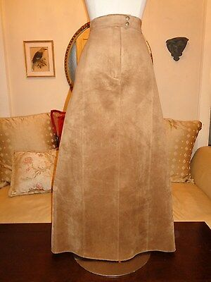 JONES NEW YORK Size 4 Washable Suede MAXI Skirt