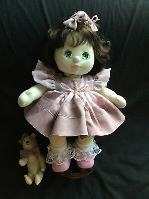 My Child Doll Dress Set. Dusty Pink.