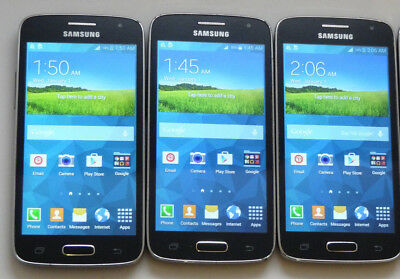 Lot of 3 Samsung Galaxy Avant SM-G386T T-Mobile Unlocked Smartphones AS-IS GSM