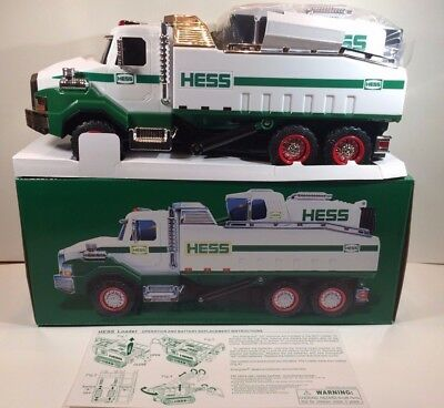 2017 Hess Toy Truck Dump Truck and Loader IN HAND READY TO SHIP Brand New In Box