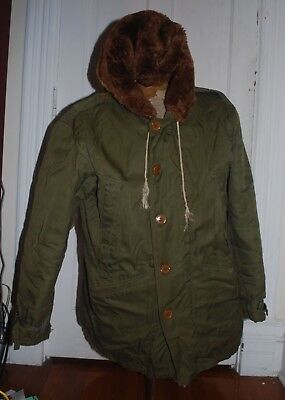 Original US WWII AAF Army Air Force B-11 B11 Parka Size 40 RARE