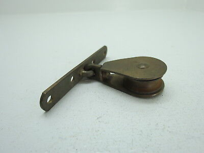 1 Inch Bronze Deck Pulley Block Boat Ship Brass Block Tackle (#274)