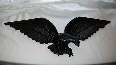 Vintage Cast Metal American Eagle Wall Hanging Plaque by Royal 22""