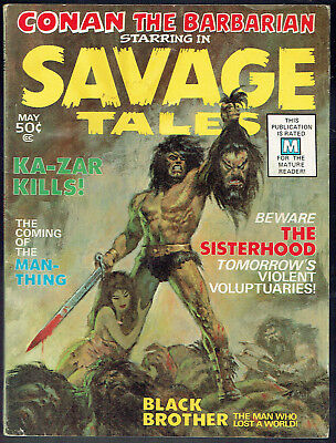 SAVAGE TALES  1  FN-/5.5  -  1st appearance of the Man-Thing!
