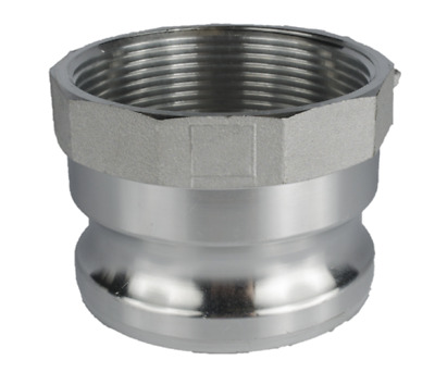 """CamLock Fitting Groove Pump 2 1/2"""" Male to Female 2 1/2"""" FIP Fitting"""