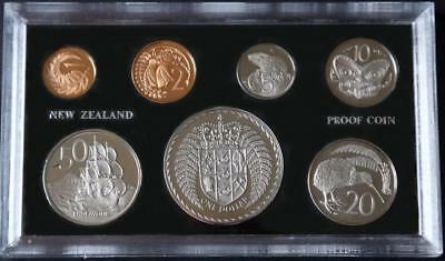 1972 New Zealand Proof Set-7 Coins