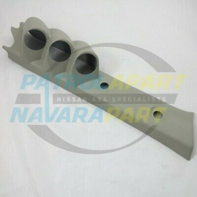 Nissan Patrol GU Pillar Pod Three gauge 52mm Gauges Colour G (PGP52X3GU-G)