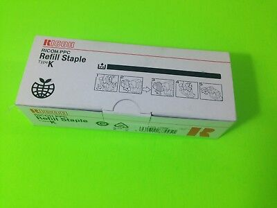 New Ricoh PPC Refill Staple Type K 410802 502R-AM 3 Cartridges Staples