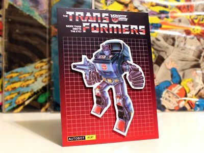G1 Transformers Getaway Autobot 80/'s Art magnet party favor