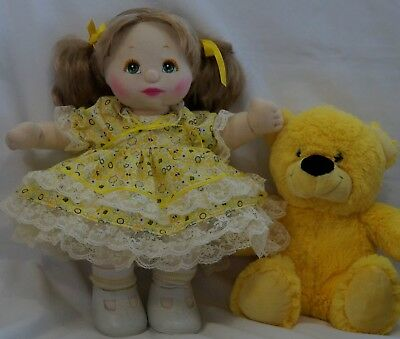 My Child Doll Ribbon & Lace Dress Panties With Petticoat No Doll
