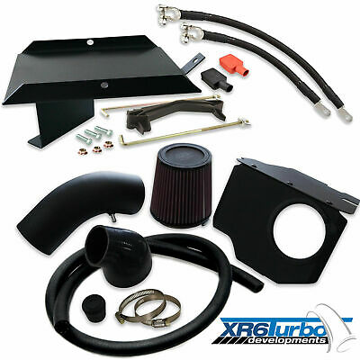 """Ford FG 4"""" inch Turbo Side Intake and Battery relocation XR6 F6 Falcon cold air"""