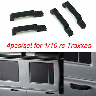 4PCS Black Car Door Handle handlebar For Traxxas TRX-4 TRX4 1/10 RC Crawler Cars
