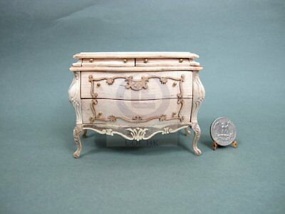"""Miniature 1:12 Scale The """"Escala"""" Bombe Chest For Doll House [Unfinished]"""