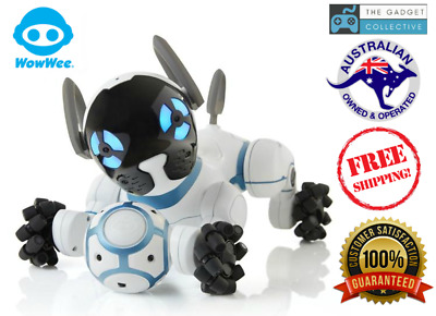 WowWee CHiP Robot Toy Dog with a personality Android Apple Phone Smartband