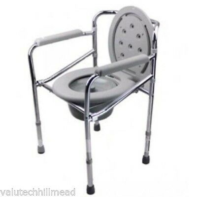 Hopkin Foldable Commode Chair Steel