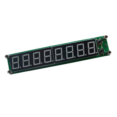 PLJ-8LED-H Signal Frequency Counter 8LED RF Meter Red LED 0.1MHz-1000MHz