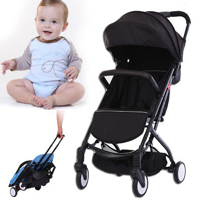 Foldable Baby Pushchair Stroller Buggy Carriage Infant Pram Lightweight Travel