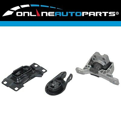 Front & Rear Gearbox / Transmission Engine Mount Kit for Mazda 3 BK LF MZR 04~09
