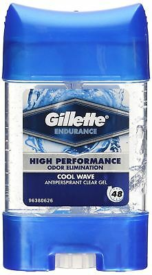 Gillette Antiperspirant Cool Wave Deodorant Clear Gel 70ml Bundle Multipacks New