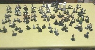 Star Wars Miniatures Rebel Army Great For Imperial Assault Rare Collectors Lot