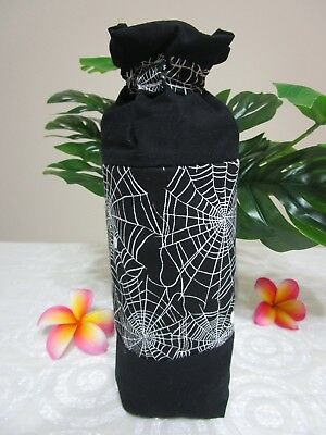 Insulated baby bottle bag-Black,spiders-Fits all baby bottle sizes.