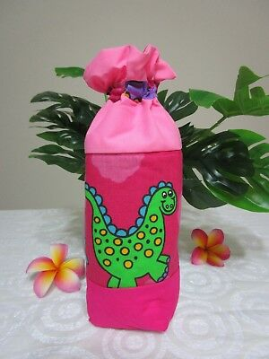 Insulated baby bottle holder-Dinosaurs-Fits all baby bottle sizes.