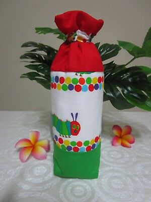 Insulated baby bottle bag-Hungry Caterpillar-Fits all baby bottle sizes.